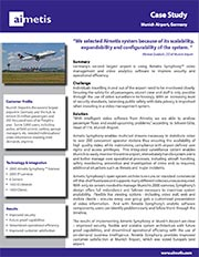 Aimetis Munich Airport Case Story