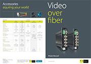 Video over fiber